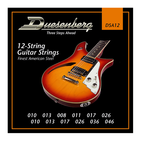 Duesenberg Nickel Wound 010-046 12-String