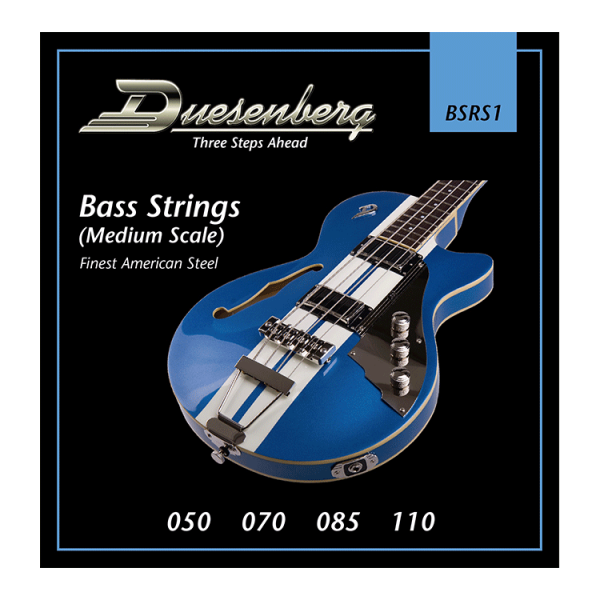 Duesenberg Nickel Wound 050-110 Bass (Midscale)