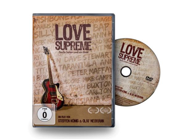 """""""Love Supreme - Sechs Saiten und ein Brett"""" DVD (German, PAL)"""