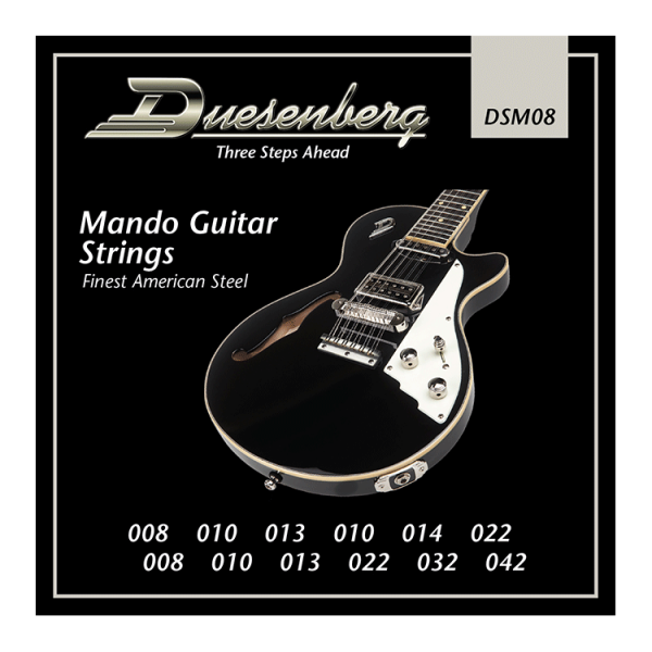 Duesenberg Nickel Wound 008-042 Mando 12-String